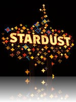 Stardust Sign at night