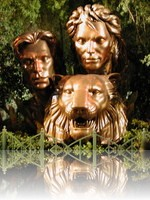 Siegfried and Roy  Monument Las Vegas