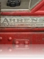 Ahrens Fox Fire Engine Cincinnati Ohio