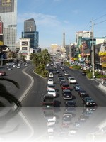 The Las Vegas Strip during the daytime